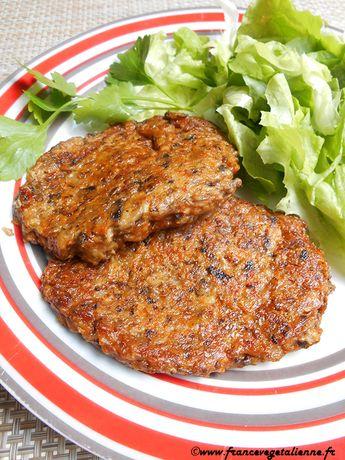 """""""Steaks"""" aux champignons (végétalien, vegan)"""