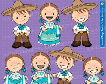 4f9e8631d2 Mexican Outfits Clipart China Poblana and Charro