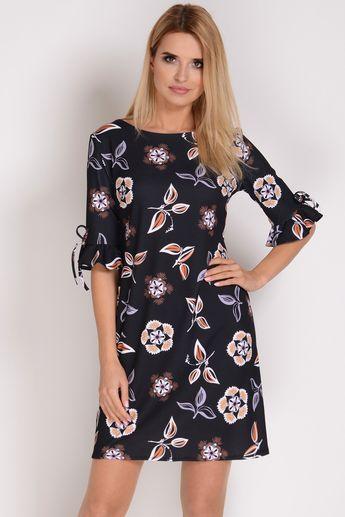 ea593ff2cbc8a5 AVARO Kobieca rozkloszowana sukienka SU-1347