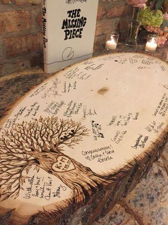 #weddingkeepsakesforguests #Wood #wedding #guest  Wood wedding guest book