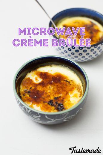 Microwave Creme Brulee