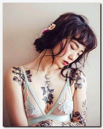 Resultado De Imagem Para Feminine Chest Tattoos