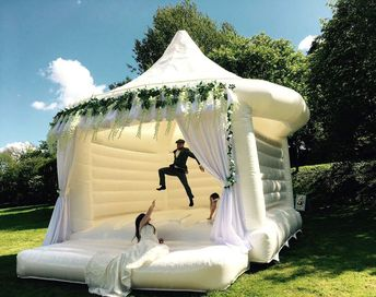 You Can Now Rent a Wedding Bouncy Castle for Your Big Day