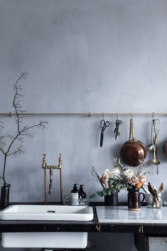 currently obsessed with: plaster walls