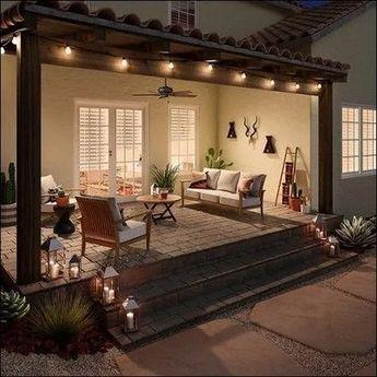 ➽Top 33+ Excellent DIY Lighting Ideas for Summer Patio and Yard   newsmartdesign.com #diylightingideas #patio #patioideas