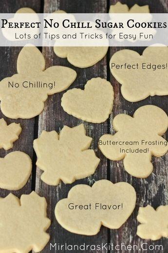 Perfect No Chill Sugar Cookies