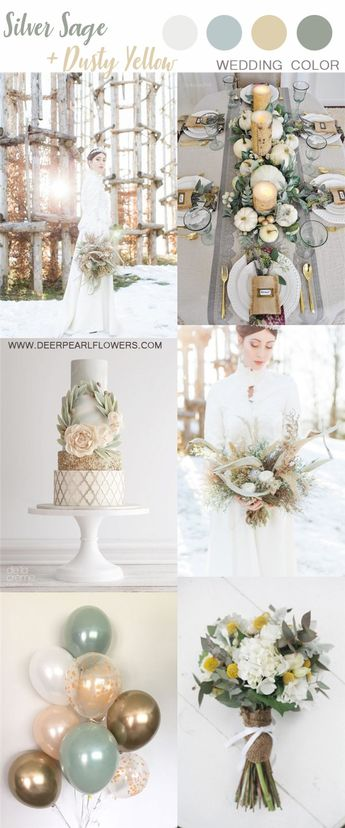 8 Stunning Muted Neutral Wedding Color Palette Ideas