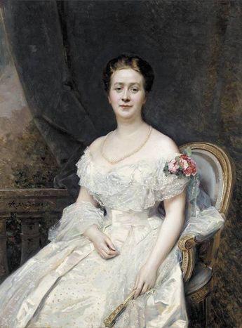 Raimundo de Madrazo - Retrato de señora