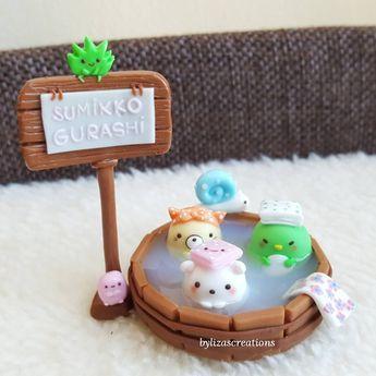 Hey everyone! Today's post is SUMIKKO GURASHI figurine. I hope you like it! #polymerclay #polymercreations #polymer #claycharms #claycharms #clay #fimo #fimocreations #fimoclay #bylizascreations