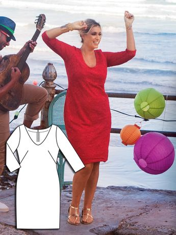 Color Desire: 9 New Plus Size Sewing Patterns