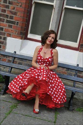 111 inspired polka dot dresses make you look fashionable (45)