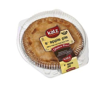 Katz Gluten Free Family Size Apple Pie   Dairy, Nut, Soy and Gluten Free   Kosher (1 Pack of 1 Pie, 20 Ounce)