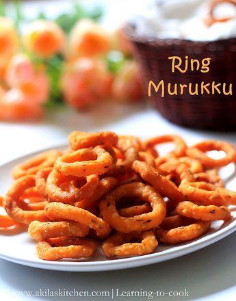www.akilaskitchen.comRing Murukku | Chekodi | Chegodilu | How to make ring murukku | Diwali Snacks | Murukku recipeswww.akilaskitchen.com