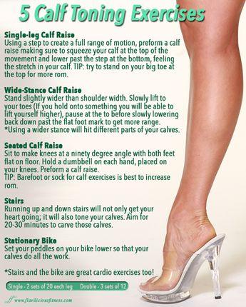 Workout Wednesday – 5 Calf Toning Exercises
