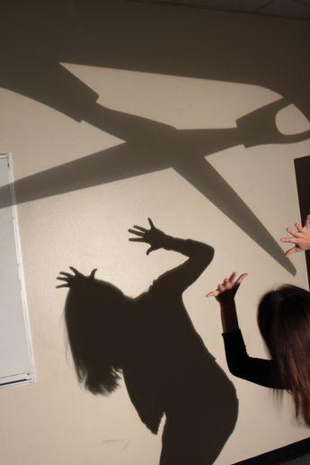 High School Shadow Art Photography