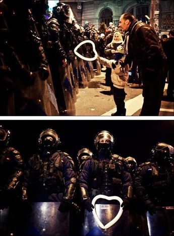 #heartshaped #photographs #austerity #bucharest #powerful #romanian #measures #protests #balloon #against #police #during #taken #child #hands40 Of The Most Powerful Photographs Ever Taken A Romanian child hands a heart-shaped balloon to riot police during protests against austerity measures in BucharestA Romanian child hands a heart-shaped balloon to riot police during protests against austerity measures in Bucharest