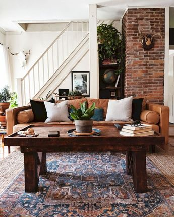 Welcoming Designs Farmhouse Living Room