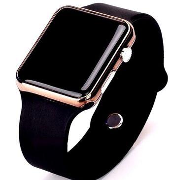 Masculino Silicone Men's Digital Clock Watch