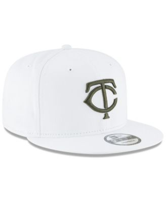sneakers for cheap 8c8d7 52c24 New Era Minnesota Twins Fall Shades 9FIFTY Snapback Cap - White Adjustable