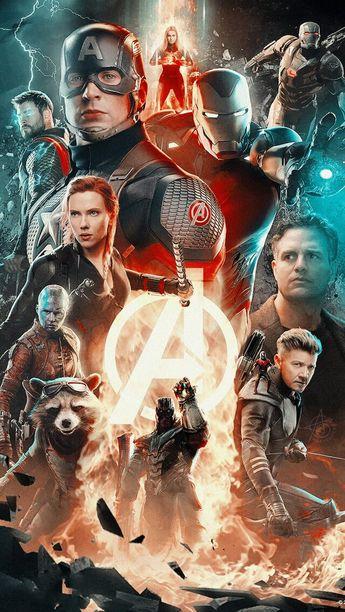 #Avengers #EndGame #Marvel #Captain Marvel #Thor #Black_Widow #captain #Tony #Nebula wallpaper lockscreen HD fondo de pantalla iPhone