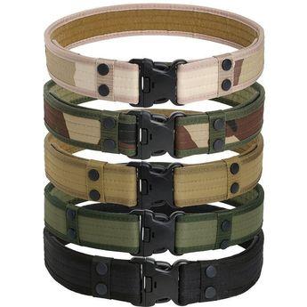 Survival Tactical Belt - New  Mens Accessory  Adjustable L