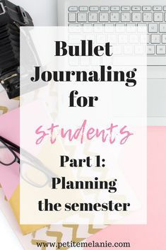 Bullet Journaling for students, Part 1: Planning the semester