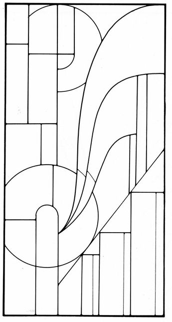 Art Deco Stained Glass Designs By Modusponens Issuu