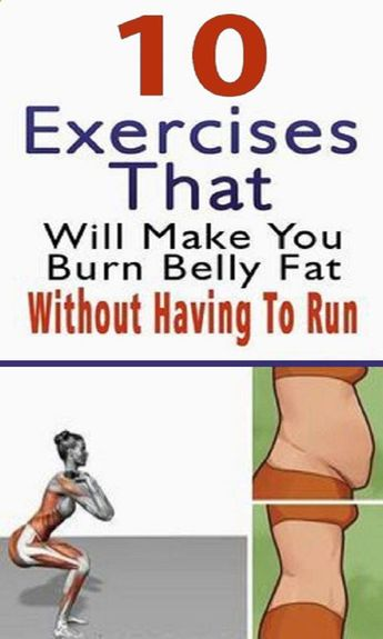 The Best 10 Workouts to Burn Belly Fat with No Running or Jogging Included