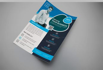 Discount Creative Business Flyer Design Template - Graphic Templates