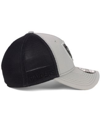 0f946897d379a New Era Oakland Raiders 2-Tone Sided 39THIRTY Cap - Gray L