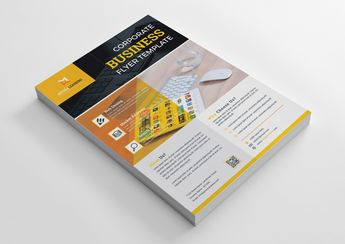 Web Design Print Flyer Template - Graphic Templates