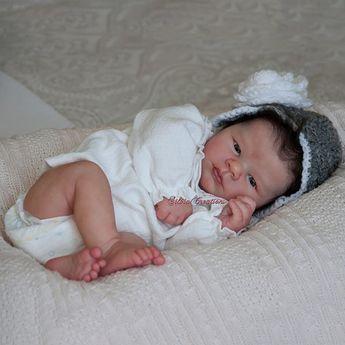 "Realborn® Lavender Awake (19"" Reborn Doll Kit)"