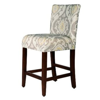 Wondrous 30 Avington Barstool Junoon Gray Espresso Leg Threshold Onthecornerstone Fun Painted Chair Ideas Images Onthecornerstoneorg