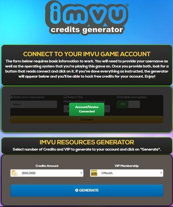 IMVU Credits Hack - How To Hack Credits and VIP Membership