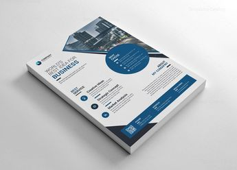 Elegant Printable Corporate Flyer - Graphic Templates
