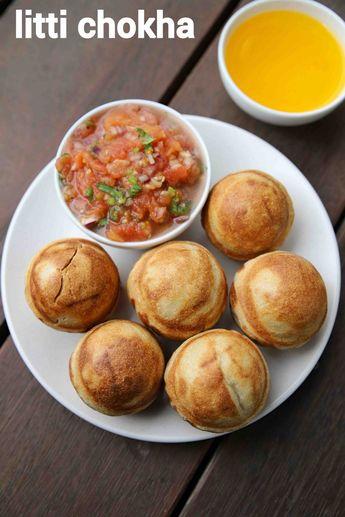 Litti chokha recipe | how to make bihari litti chokha | baati chokha