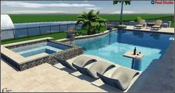 145 amazing minimalist pool decoration ideas for your backyard -page 29