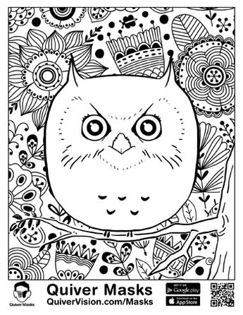 Dibujos Para Colorear Quiver