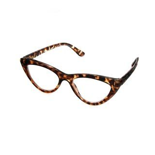 daeb4558963 Hot Optix Women s Cateye Reading Glass (3 - Tortoise (Green) - Tortoise