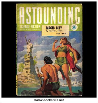 Astounding Science Fiction Magazine February 1941 (British Edition)