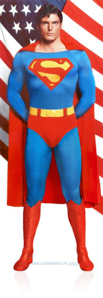 Christopher Reeves as Superman