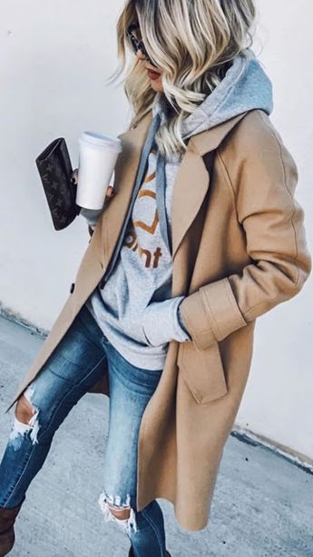 15 Cute and Casual Fall Outfit Ideas 2019, cute outfits, trendy outfits, casual outfits, fall fashion