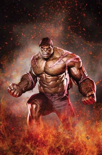 Marvel Comics Comic Book Artwork • The Hulk by Adi Granov. Follow us for more awesome comic art, or check out our online store www.7ate9comics.com