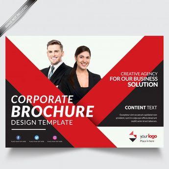 Modern Business Brochure Template  Down