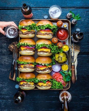 Burger Love. Y'all, Amazon is CRUSHING a 🔥sale for my cookbook EAT DELICI... - Sandwiches