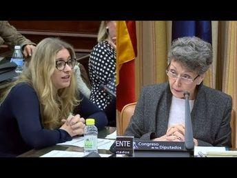Senadora Esther Muñoz PP acusa Rosa María Mateo directora TVE de manipulación