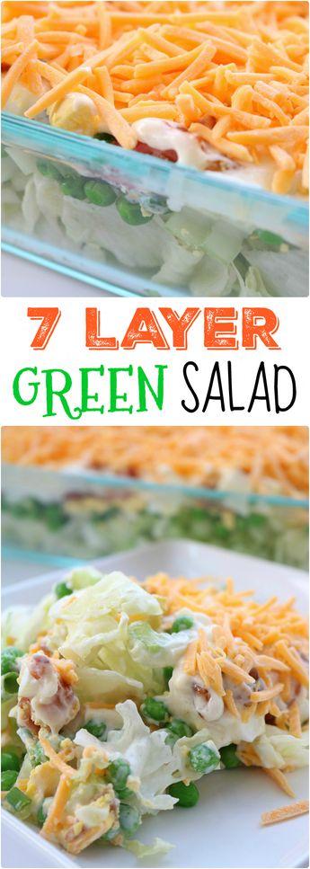 Delicious 7 Layer Salad