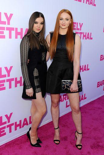 "Sophie Turner & Hailee Steinfeld - Première de ""Barely Lethal"", Los Angeles - 27 mai 2015 | via Tumblr"