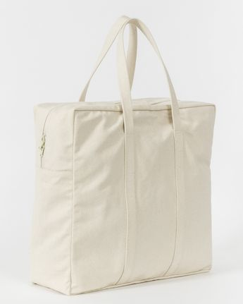 81910a3581d1 Natural Canvas Safari Travel Tote Bag