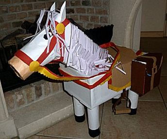 Knutselcategorie: Sinterklaas: Haan of paard